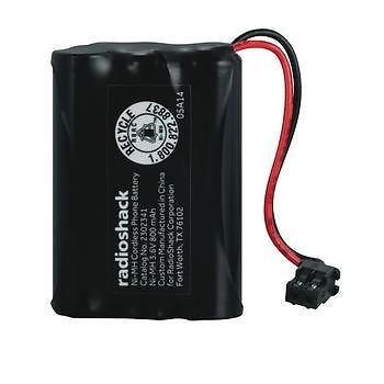 RadioShack 3.6V/800mAh Ni-MH Cordless Phone - Nickel Phone Cordless Metal Hydride