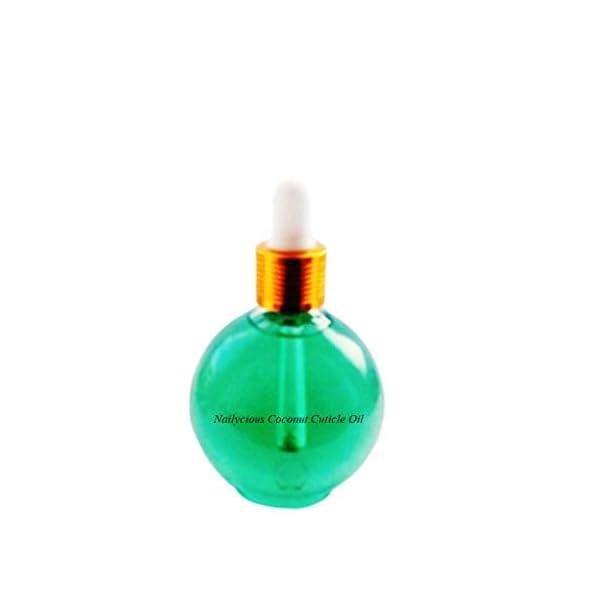 coconut nail cuticle oil 75ml/2.5oz, professional size