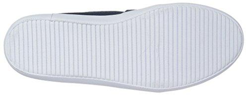 Lacoste Women's Marice 317 1 Fashion Shoe Sneaker, Navy, 8.5 M US