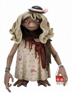 E.T. Series 1 Dress-Up E.T. with purse 4.5 Inch Action Figure by ET the Extraterrestrial