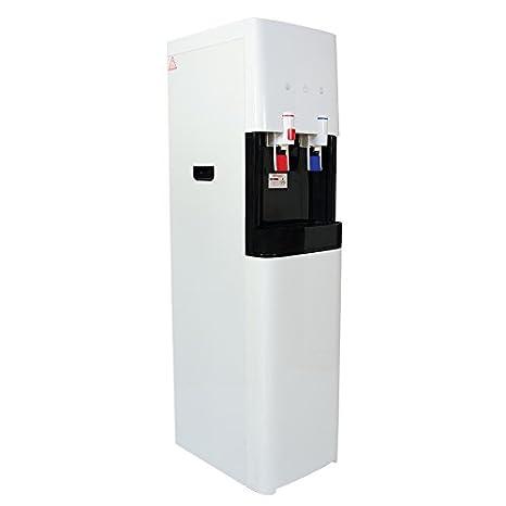 Dispensador de Agua fría y Caliente. Fuente de Agua Ideal para Oficina o casa. Fiord ósmosis: Amazon.es: Hogar
