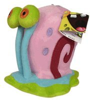 Spongebob's Gary The Snail 12 Plush - Gary Snail Stuffed Animal (12in) by Nick Jr.