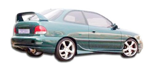 (Duraflex Replacement for 1995-1999 Hyundai Accent HB Evo Side Skirts Rocker Panels - 2)
