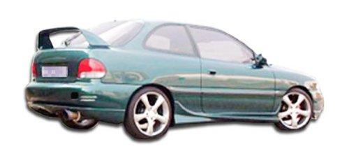 1999 Evo Side Skirts - Duraflex Replacement for 1995-1999 Hyundai Accent HB Evo Side Skirts Rocker Panels - 2 Piece