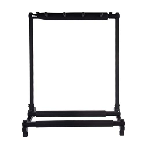 Triple/Five/Seven Guitar Bass Stand Holder Stage Folding Display Rack