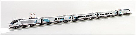 HO Spectrum Acela Express Set, Amtrak by Bachmann Trains Acela Train Set