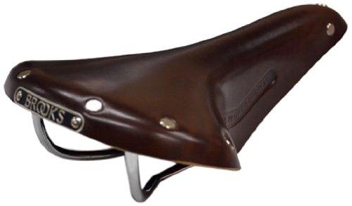 Brooks Saddles Men's Team Pro Bike Saddle, Antique Brown/Tubular Rivets