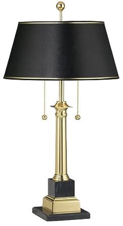 Georgetown Solid Brass Desk Lamp Solid Brass Swing Arm