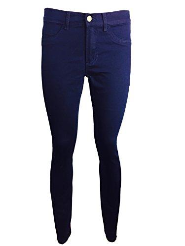 Azul Vaqueros Mujer Zara Marino Para Ex gqCpw14x