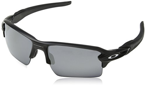 Oakley Men's Flak 2.0 XL OO9188-01 Rectangular Sunglasses