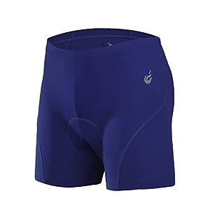 Beroy Men's Cycling underwear Shorts Bicycle underpants 3D padded bike Riding Briefs shorts,Navy,Medium