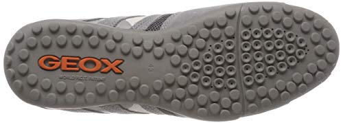 Sneaker Snake grey C1006 Uomo Grau Herren L Geox qEzIwI