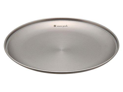 (Snow Peak Tableware Plate, Medium)