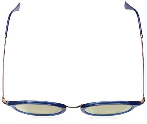 Round RB Transparente Lenses Blue Sonnenbrille 2447N Ray Flat Ban Exw0nqXpCv
