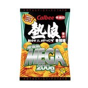(Pack of 3) Calbee Hot & Spicy Flavoured Potato Chips 200g