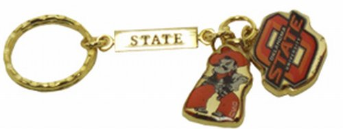 - NCAA Oklahoma State Cowboys Metal Charms Keychain