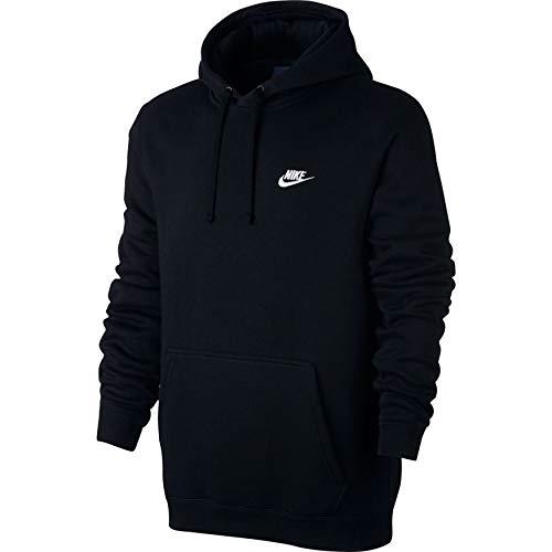 À Sweat Noir Nike Pour Club Flc M Hoodie Homme Capuche blanc Po noir Nsw R4x40qYg