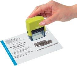 Kes'Pon Small Id Guard Stamp 1.5x.5-Green