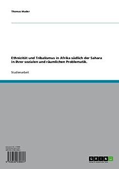 Amazon.com: Ethnizität und Tribalismus in Afrika südlich ...