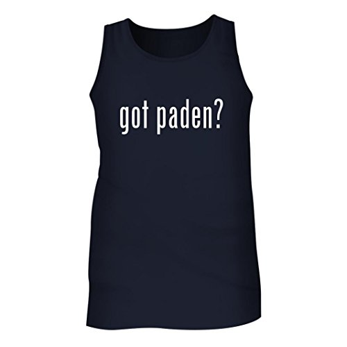 Tracy Gifts Got Paden? - Men's Adult Tank Top, Navy, - Line C Glasses