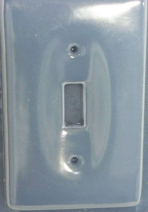 Reusable Plastic Light Switch Mold 5677 (Plastic Switchplate)