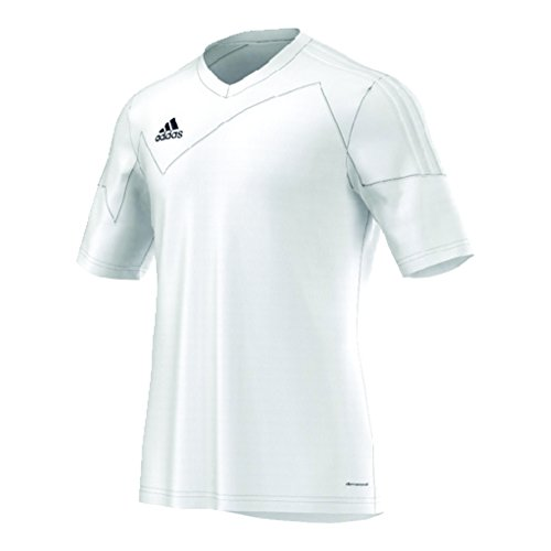 - adidas Toque 13 Mens Short Sleeve Jersey L White