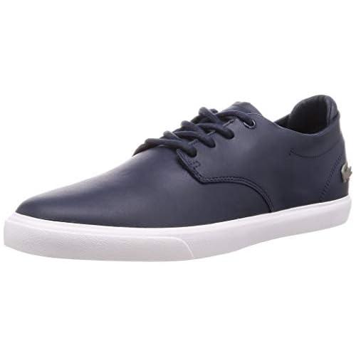 chollos oferta descuentos barato Lacoste ESPARRE BL 1 CMA Zapatillas para Hombre Azul Navy White 44 EU