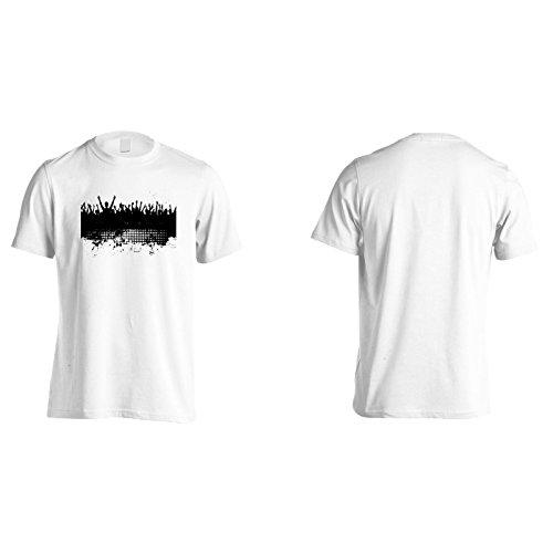 Neue Partyleute Tanzen Dj Herren T-Shirt l837m