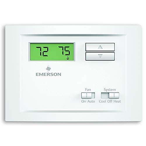 (Emerson NP110 Non-Programmable Single Stage Thermostat)