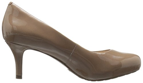 Sto7H65 Women's Taupe P Pump Rich Rockport Shoes fqC55