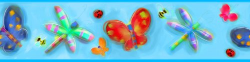 - Roommates Home Indoor Room Decorative Wallpaper Sticker Jelly Bugs Peel & Stick Border