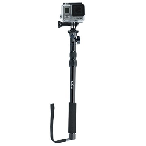 YunTeng Universal Monopod for Mobile Phones and Camera (Black) - 1