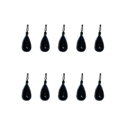 (Fishing Vault 10 Pack 1/2 oz Tungsten Drop Shot Weight Tear Drop Style Sinker)