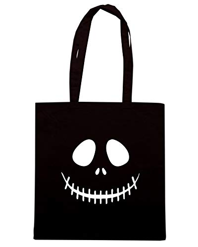 Speed Shirt Borsa Shopper Nera OLDENG00647 SKELETON FACE