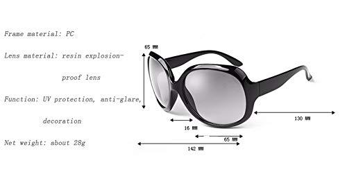 Europeo WJYTYJ El Y Mujeres Polarizadas Retro último De Gafas Sol Negro Estilo UV Protección Americano AtqxtUwr