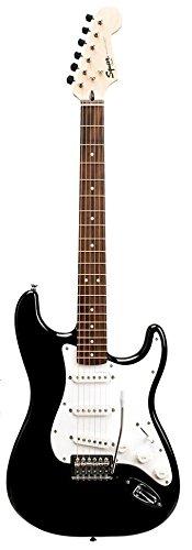 Fender Starcaster Electric (Fender 0284001106 Starcaster with Planet Waves/GO-DPS 16 Pick Sampler – High-Gloss Black)