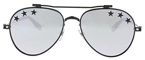 Givenchy GV7057/STARS 807 Black GV7057/STARS Pilot Sunglasses Lens Category 3 L from Givenchy