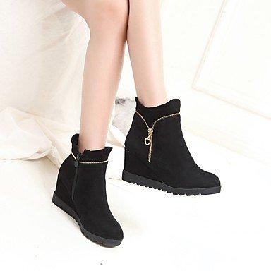SHAOYE Mujer Zapatos Materiales Personalizados Invierno Botas de nieve Botas de Equitación Botas de Moda Botas de Combate Suelas con luz Botas , black , us8 / eu39 / uk6 / cn39 us8 / eu39 / uk6 / cn39 black
