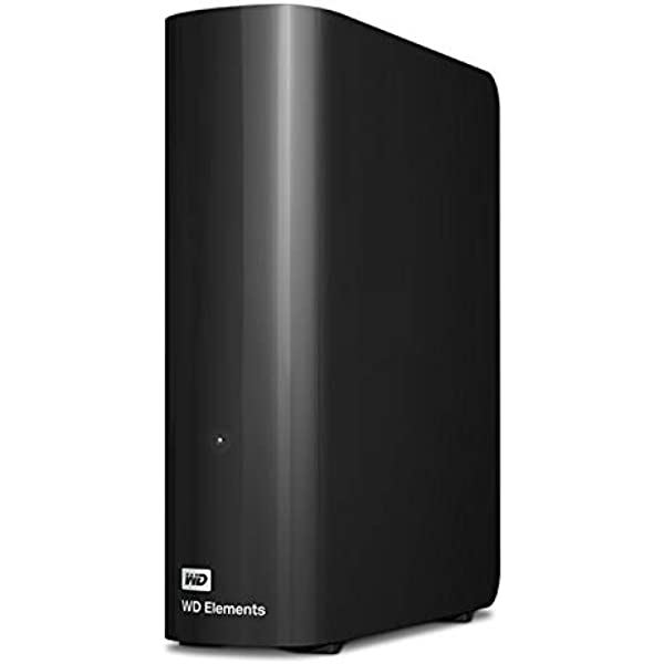 WD TB Elements Desktop Hard Drive HDD USB Compatible with PC Mac PS Xbox WDBWLG HBKNESN