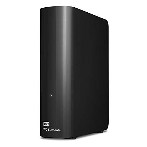 Western Digital 18TB Elements Desktop Hard Drive, USB 3.0 - WDBWLG0180HBK-NESN