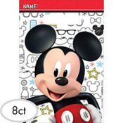 Amscan Mickey Mouse Party Supplies On The Go Treat Bags (8) -