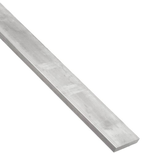 2024 Aluminum Rectangular Bar, Unpolished (Mill) Finish, 1/8