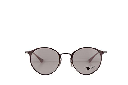 94a0a9eafc9 Ray Ban RX6378 Eyeglasses 47-21-140 Gunmetal Turtledove w Demo Clear Lens  2907 RB6378 RB 6378 RX 6378