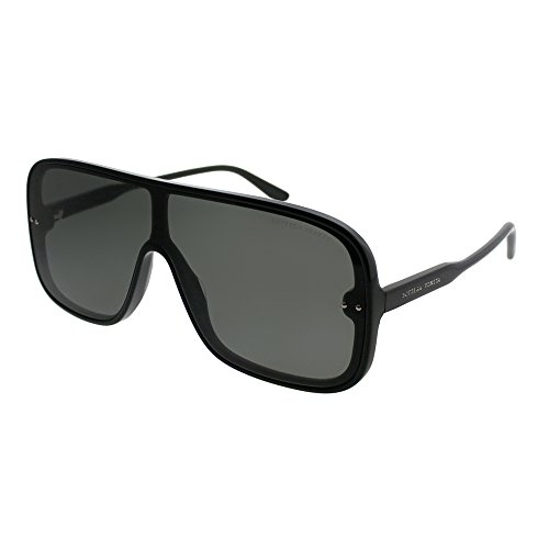 Authentic BOTTEGA VENETA Black Shield Sunglasses ()