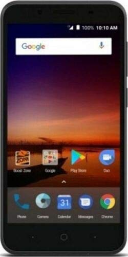 Virgin Mobile - ZTE Tempo X 4G LTE with 8GB Memory Prepaid Cell Phone - Black (Virgin Mobile Touch Screen 5 Inch)