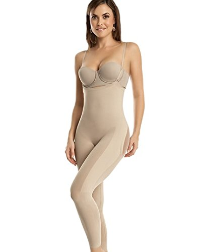 invisible-bodysuit-shaper-with-rear-lift-leonisa-beige-s-m