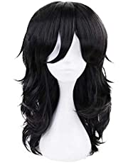 LZT DanganRonpa Cosplay Costume Heat Resistant Synthetic Hair Women Wigs Synthetic Wigs with free Cap Included