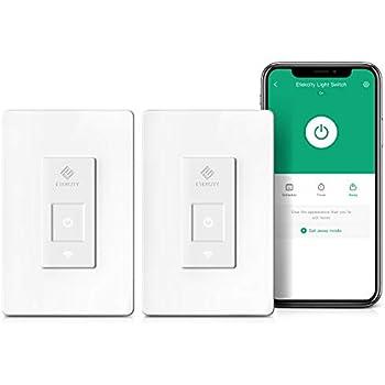 Smart Light Switch By Etekcity Wifi Remote Control Switch