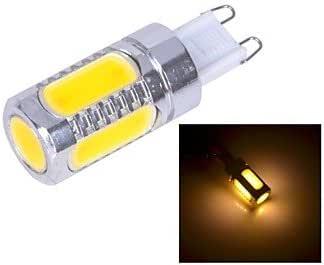 Ledtcx AX282 G9-6D-7.5W 3xCOB SMD 500lm 3200K Warm White Light LED Bulb (DC12V)