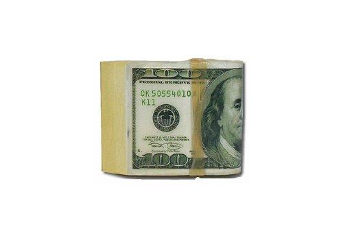 Men's Folded Money Belt Buckle Green